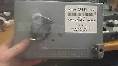 92155210 Holden Commodore Body Control Module MID / VY VZ v6 v8 w/3 button remot