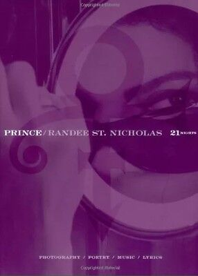 Prince  21 Nights Limited Edition Cd And Hard Back Book . Brand New