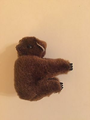 Clip On Hugger Animals Koala Bear Dark Brown