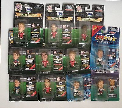 11 x Corinthian Carded Football Figures BNIP Collectable Rare See for Details