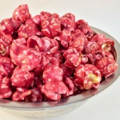 Freedom Snacks SWEET RASPBERRY Handcrafted Gourmet Popcorn