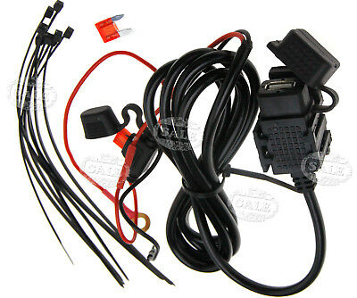 12V/24V USB Power Supply Port Motorcycle Mobile Adapter Charger Socket
