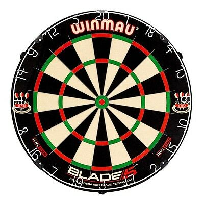 Winmau Blade 5 Dual Core Professional Level Dartboard Dart Board with Rota-Lock