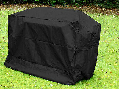 Livivo Large Waterproof Bbq Cover Garden Grill Bicycle Storage Protector Black