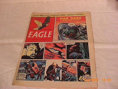Classic Eagle Comic vol 2 no 39 from 4th Jan 1952  Dan Dare The Red Moon Mystery