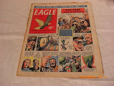 Classic Eagle Comic Vol 8 no 19 from 10th May 1957  Dan Dare Reign of The Robots