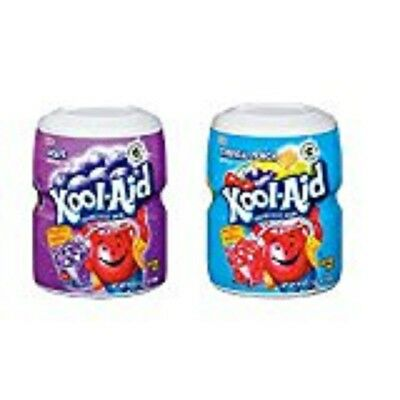 Kool Aid Grape and Tropical Tubs 538g (1 of each)