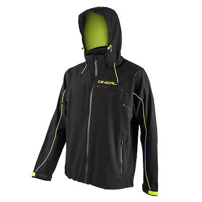 GIACCA BICI MTB ONEAL FREERIDER Soft Shell Jacket black/yellow