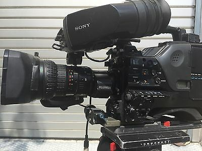 Sony PDW-700 XDcam Incl. HD Farbsucher HDVF-C35W, Canon Weitwinkel, FUJINON Tele