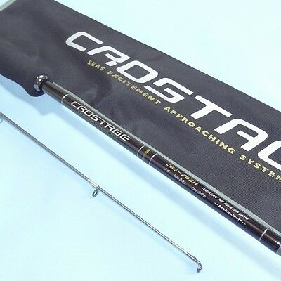 Major Craft CROSTAGE CRS-762H Spinning 2 piece Fishing Rod New Light game Carbon