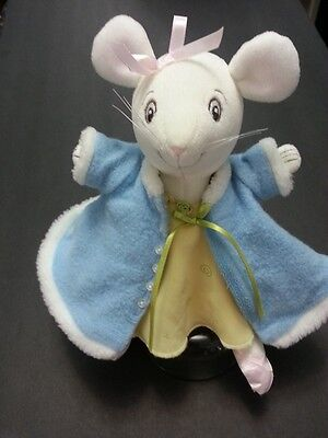 American Girl Angelina Ballerina Doll LOT Mouse Blue Coat Princess Dress Ballet