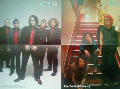 My Chemical Romance posters articles / clippings