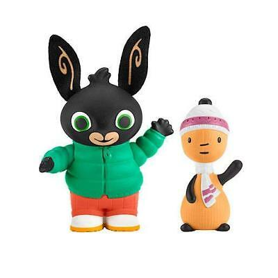 Bing Bunny - Autumn Day Bing & Flop Figures - Fisher Price - CHF23 - New