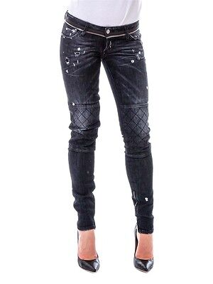 ***dsquared2 Skinny Motorcycle Zipped Jeans Size 38 40 42 Specialprice!!!***