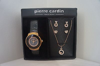 BRAND NEW AUTHENTIC Pierre Cardin Watch and Jewellery set - THE PERFECT GIFT!