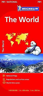 The World NATIONAL Map (Michelin National Maps)