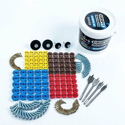 GripIt Grip It Assorted Trade Tub Plasterboard Fixings 100pce