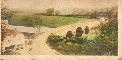 Cavandars Cigarette Card River Valleys  Shillingford Bridge No  47  C 1926
