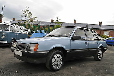 Very Rare Early Vauxhall Cavalier Sr Mk2 Cav Must Be Viewed To Be Appreciated