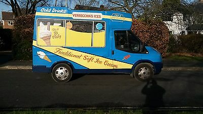 Soft Ice Cream van with bock compressor, full castle style body, not a rebody