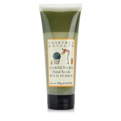 Crabtree & Evelyn Gardeners 195g Hand Scrub With Pumice FREE P&P