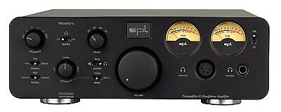 SPL Phonitor X Headphone Amplifier and Preamplifier with VOLTAiR technology BLK