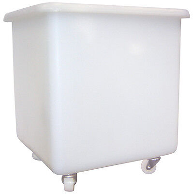 Large Cater Bin White Container 100 L Catering Bin on Wheels Restaurant Trolley