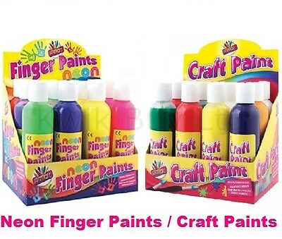 Craft Paints 200ml Bottles Water Based Colours