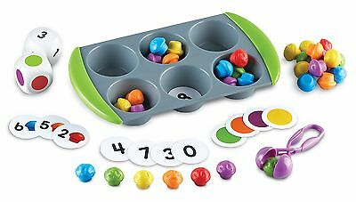 Learning Resources LER5556 Mini Muffin Match Up Assorted Color