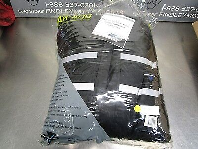 Nelson-Rigg AR-400 Arctic 1-Piece Black Thermal Insulated Rain Suit XXL 517-006