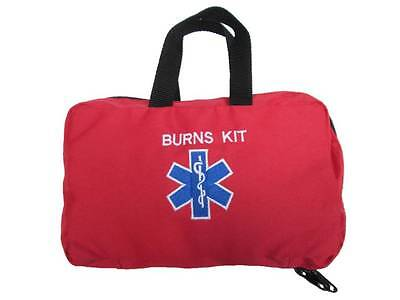 Red BURNS KIT Paramedic Star of Life Grab Bag for Ambulance St John Medic Doctor