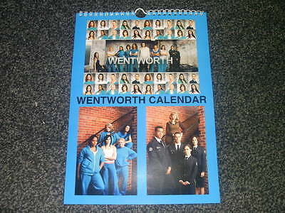 Wentworth Prison Dvd Inspired Calendar 2017 *great Gift* Uk Seller