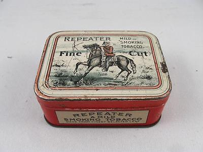 Vintage Repeater Smoking Tobacco Tin By Imperial Tobacco Co. Montreal