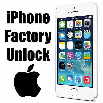 Factory Unlock Service - At&t - Apple Iphone 7 6S 6+ 6 5S 5C 5 4S 4 Clean Imei