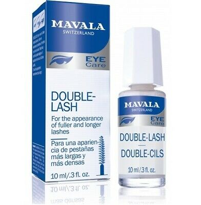 Mavala Double Lash Improver Longer Denser Stronger Eyelashes Treatment 10ml
