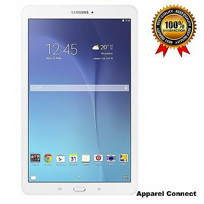 """New Samsung Galaxy Tab E SM-T560 9.6"""" Android Tablet 8GB Wi-Fi White - UK Model"""
