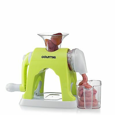Gourmia GIC9610 Ice Cream Maker Whips Up Frozen Fruit Desserts With Easy Hand...