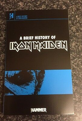 A Brief History Of Iron Maiden By Metal Hammer Paperback Book