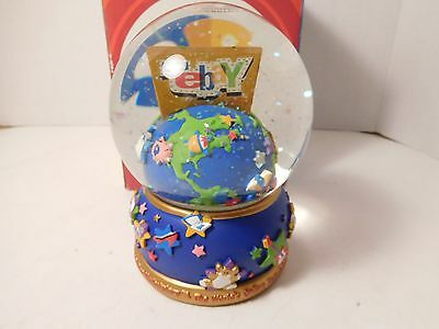 EBay Snow Globe 2003 Limited Edtion w/ Box and Certificate