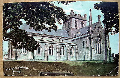 Protestant Cathedral Armagh posted 1907 D504