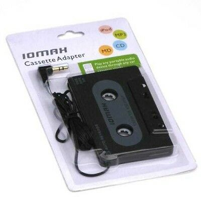 IOMAX Car Cassette Adapter - Black