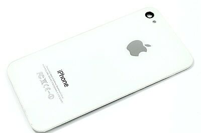 3X White NEW Rear Glass Back Cover Battery Door For iphone 4 CDMA / A1349