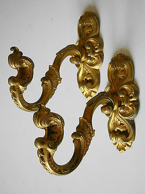 embrasses embrases bronze support rideaux deco architecture