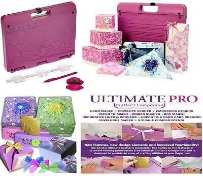 Crafters Companion Ultimate Pro - Tool for Card Making Scrapbook Embossing Bows