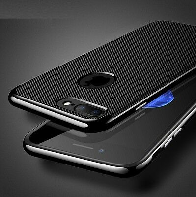 COVER CUSTODIA ORIGINALE FEEL CARBON Hybrid Armor per Apple iPhone 7 / 7 Plus