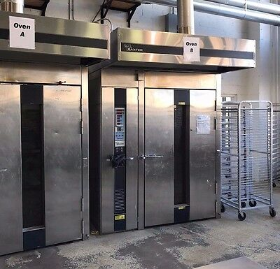 Used Baxter OV210E 2 Rack Roll In Electric Oven