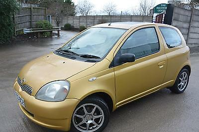 Toyota Yaris Gls 1.0 3 Door*spares Or Repairs To Clear*no Mot*bad Clutch*