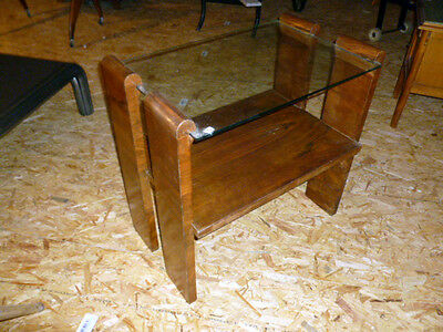 Table basse art deco d'atelier loft tendance vintage