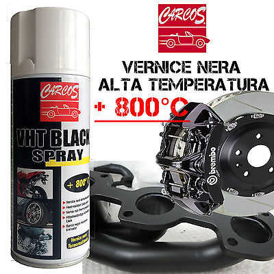 CARCOS Alte Temperature Vernice Spray Pinze Freno Marmitte Tuning Tubo NON COLA
