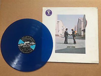 Pink Floyd - Wish you were here - Blue Vinyl rare Limited edition + postcard